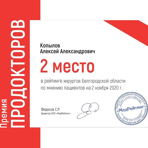 Премия ПРОДОКТОРОВ